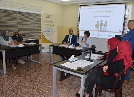 الوسطاء الشباب في القدس يعقدون جلسة الوساطة الصورية الأولى