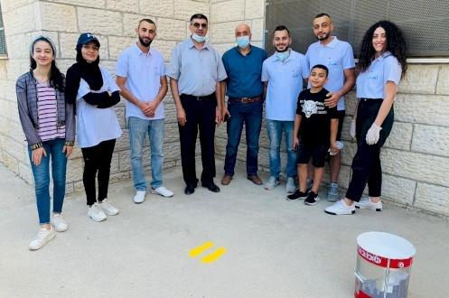 نشاط المدارس لمجموعة أهل في شمال شرق القدس