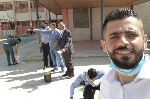 نشاط المدارس لمجموعة أهل في شمال غرب القدس